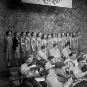 Silvestr v ČT 1953